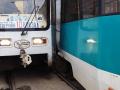 Кемерово встал в пробку на Кузнецом из-за трамваев