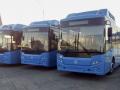 В Новокузнецк едут новые ярко-синие автобусы