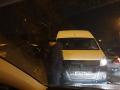 В Новокузнецке четыре автомобиля столкнулись на пешеходном переходе