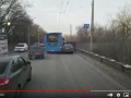 В Новокузнецке автобус «Питеравто» с пассажирами врезался в легковушку