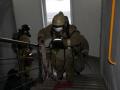 В Новокузнецке на пожаре сотрудники МЧС спасли мать с грудным ребёнком