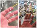 Кемеровчане получили ожоги рук от тележек в «Ленте»