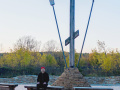 На территории храма Иоанна Воина в Новокузнецке сняли клип