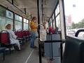 Водители трамваев в Новокузнецке подрабатывают кондукторами