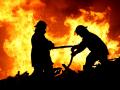 В пригороде Новокузнецка загорелась обогатительная фабрика