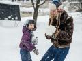 После обрушения снега в Кузбассе госпитализировали ребёнка