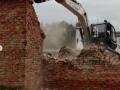 Мэрия Кемерова демонтировала аварийное здание на Ленина