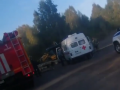 Соцсети: в ДТП под Осинниками пострадал водитель лесовоза