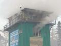 Кузбасские власти объяснили, почему загорелась бугельная станция в Шерегеше