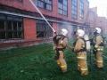 На кемеровском «Азоте» загорелся химический цех